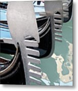 Gondola In Line Metal Print