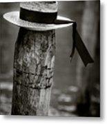 Gondolier Hat Metal Print by Dave Bowman