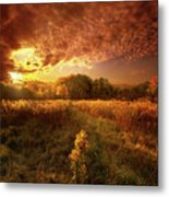 Gone Far Away Into The Silent Land Metal Print