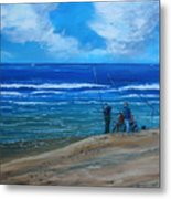 Gone Fishing. Metal Print