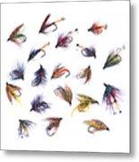 Gone Fishing Metal Print by Meirion Matthias