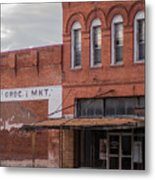 Gone Grocery 5 #vanishingtexas Street Scene Rosebud Texas Metal Print
