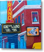 Gone With The Wind At The Strand Metal Print