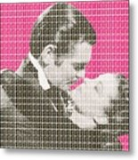 Gone With The Wind - Pink Metal Print