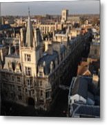 Gonville And Caius College Metal Print