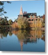 Gonzaga Art Building Metal Print