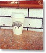 Good Coffee Metal Print