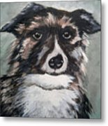 Good Dog By Christine Lites Metal Print