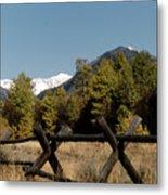 Good Fences Make Good Neighbors .... Robert Frost Metal Print
