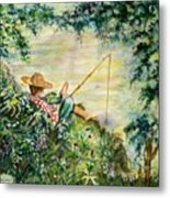 Good Fishing Metal Print