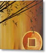 Good Fortune Bamboo 2 Metal Print