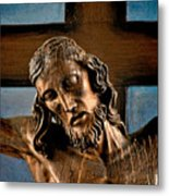 Good Friday Jesus On The Cross Metal Print