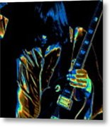 Good Guitar Vibrations Metal Print