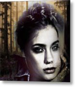 Good Listener But Bad Marriage Material, I Present You Claudette Potreaux Metal Print