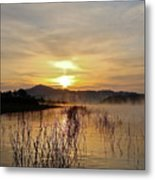Good Morning   God Metal Print