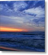 Good Morning - Jersey Shore Metal Print