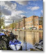 Good Morning Amsterdam Metal Print