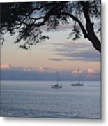 Good Morning Boats Metal Print