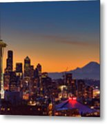 Good Morning From Kerry Park Metal Print