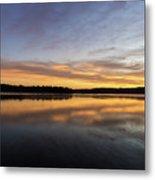 Good Morning Lake Springfield Metal Print