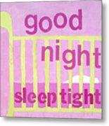 Good Night Baby Metal Print