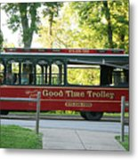 Good Time Trolley Metal Print