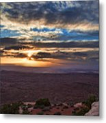 The Long Wave Goodbye Metal Print