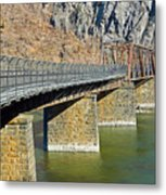 Goodloe E. Byron Memorial Footbridge Metal Print