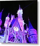 Goodnight Cinderella Metal Print