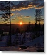 Goodnight Montana Metal Print