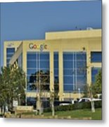 Google Orange County Metal Print