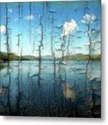 Goose Pond Reflection Metal Print