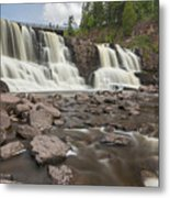Gooseberry Middle Falls 24 Metal Print