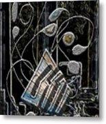 Gordian Harp Metal Print
