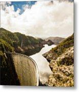Gordon Dam Tasmania  Metal Print