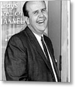 Gordon E. Doc Hamilton 1926  2004 Kvoa Tv Tucson Arizona Dick Mayers Photo C.1968 Metal Print