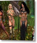 Gorean Girls Metal Print