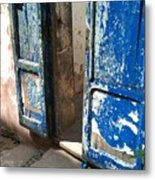 Goree Door Texture Metal Print