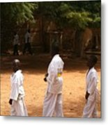 Goree Karate  Metal Print by Fania Simon