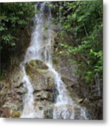 Gorge Creek Falls - North Cascades National Park Wa Metal Print by Christine Till