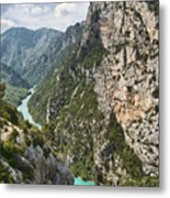 Gorge Du Verdon Metal Print