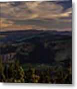Gorge Sunset Metal Print