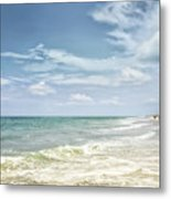 Gorgeous Day At The Seashore Metal Print