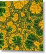 Gorgeous Fabric Design - Series Number Ten Metal Print