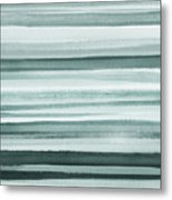 Gorgeous Grays Abstract Interior Decor I Metal Print