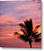 Gorgeous Hawaiian Sunset - 1 Metal Print