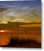 Gorgeous Sunset Metal Print by Melanie Viola