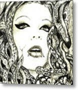 Gorgon Metal Print by Justin Kautz
