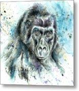 Gorila2 Metal Print