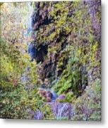 Gorman Falls At Colorado State Park IIi - San Saba Texas Hill Country Metal Print